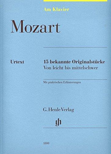 15 bekannte Originalstuecke - arrangiert für Klavier [Noten / Sheetmusic] Komponist: MOZART...