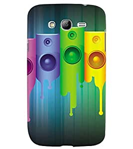 GADGET LOOKS PRINTED BACK COVER FOR SAMSUNG GALAXY GRAND NEO MULTICOLOUR