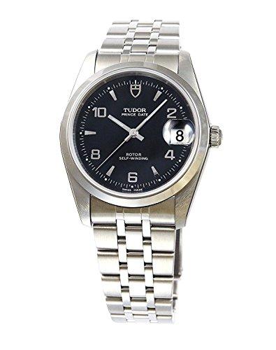 Tudor Armbanduhr Prince Datum Schwarz Armbanduhr Zifferblatt Arabisch Index 74000bk5ar Herren Automatik Parallel Import Goods]