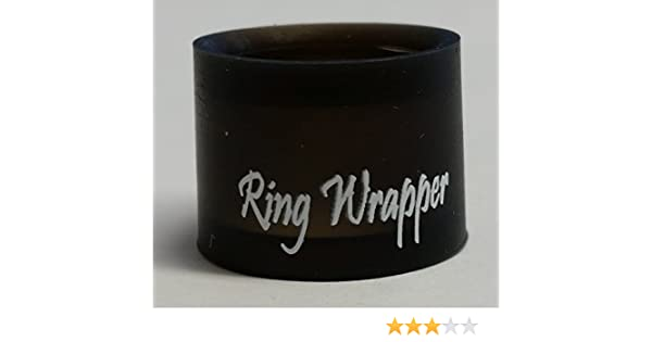 Ring Wrapper The World S Best Silicone Wedding Ring Protector Never
