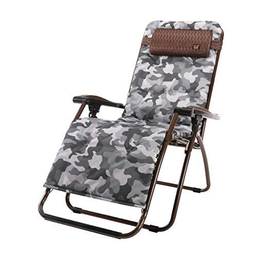 Chaise inclinable Pliante Textilene Garden Beach Chaises réglables Brown Portable avec Repose-tête avec Porte-gobelet (Couleur : #2)