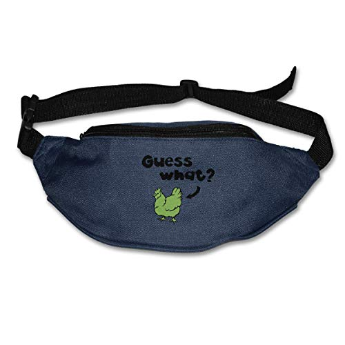 Waist Bag Fanny Pack Guess What Pouch Running Belt Travel Pocket Outdoor Sports