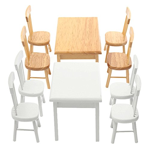 Generic 1:12 Dining-table Chair Set