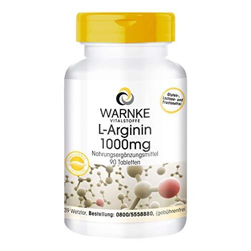 L - Arginina 1000mg - 90 Compresse - Sostanza pura