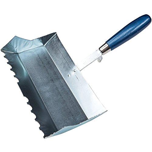 Connex Kalksandstein-Klebekelle 240 mm, Halbrundzahnung, Holzgriff, 1 Stück, COX785076