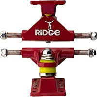 Ridge Skateboards 22-Inch Skateboard - Eje de Skateboards, Color Rojo, Talla Standard