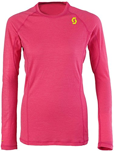 Scott Womens 9ZR0 L SL Hot Pink Rose