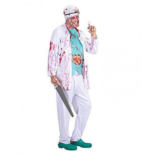 Tot Kostüm Chirurg - shoperama Zombie Chirurg Kostüm für Herren - Gr. M/L