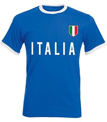 laylawson® World Cup T-Shirt Mens Adults Football Tee England Brazil Italy Germany Poland