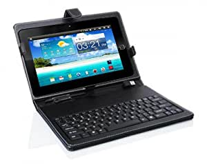 """Wespro 10"""" Tablet cum Mini Laptop(Free-Leather Pouch with USB Keyboard)"""