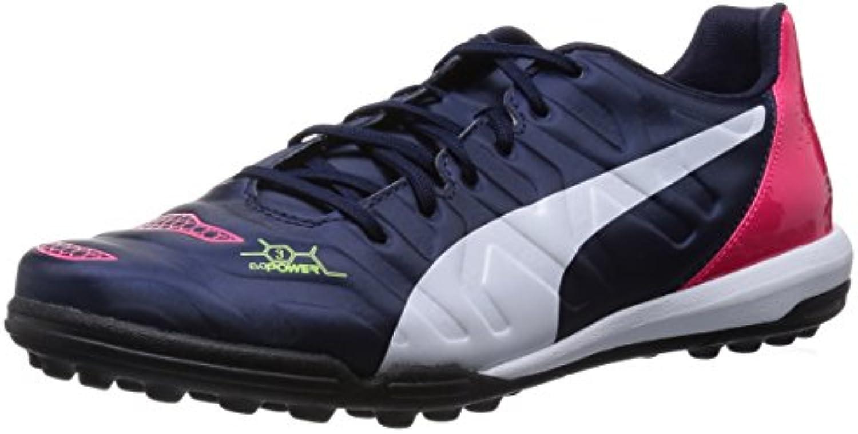 Puma Evopower 3.2 TT Zapatos de Fútbol Hombre, negro/rosa
