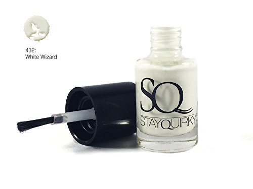 Stay Quirky Nail Polish, White Wizard 432, 6ml
