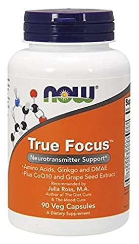 Now Foods, True Focus, 90 Veg. Kapseln (Nutri Supplement)
