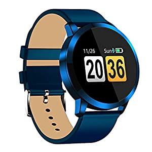 Fitness-Tracker-Band, Smart-Armband, wasserdicht, Herzfrequenz-Monitor, Sport-Armbanduhr, Armbanduhr für Android iOS Handy