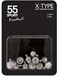 55 Sport X-Type Replacement Soft Ground Football Studs