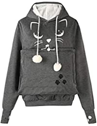 Amazon.fr   chats - Sweats à capuche   Sweats   Vêtements fc3f6a0f5e2