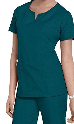 Smart Uniform XL 1706 R Neck (XL, Karibikblau [Caribbean ] 1)
