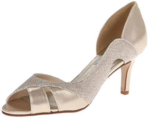 Touch Ups Damen Charlie, champagnerfarben, 39 EU Touch-ups Low Heel Heels