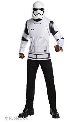 Der Force weckt Kostüm Zubehör, Herren Star Wars Stormtrooper Kit, Large, Brust 111,8-116,8cm