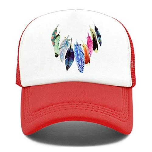 JJJRMP Trucker Caps Hut Damen Herren BuntCap Dream Catcher Hip Hop Mesh Baseball Cap Für Herren Damen