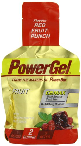 Powerbar PowerGel Red Fruit Punch, 3er Pack (3 x 41 g)