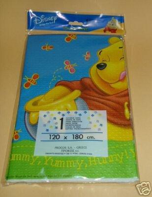 Winnie the Pooh Plastic Tablecloth 120x 180