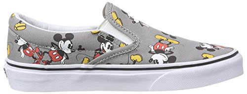 Vans U Classic Slip-On Disney, Sneakers Hautes mixte adulte Multicolore ((disney) Mickey Mou