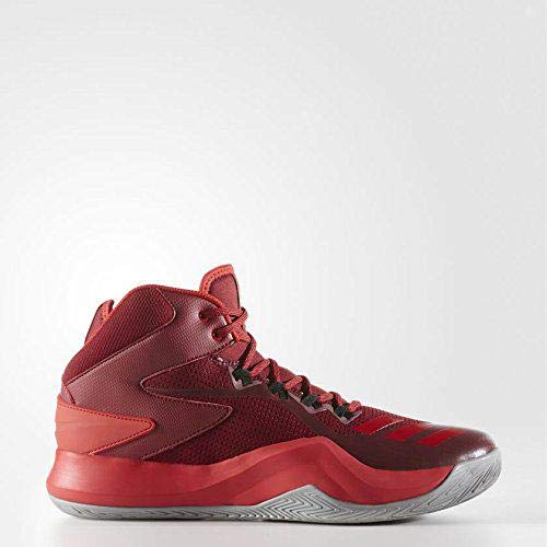 adidas Herren D Rose Dominate Iv Basketballschuhe, Rot (Buruni/Escarl/Grpumg 000), 50 EU