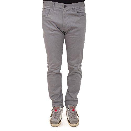 6X6J45 6NKFZ1900 Armani Jeans Pantalone cinque tasche Grigio 38 Uomo