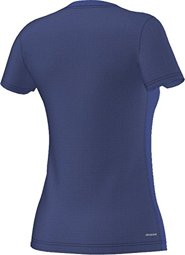 adidas Damen Trainingsshirt Aeroknit Climacool Tee, AB6470 Dunkelgrau