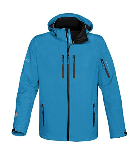 Stormtech Expedition Softshell-Jacke XB-2M, Farbe:Electric Blue/Black;Grš§e:M Expedition Softshell