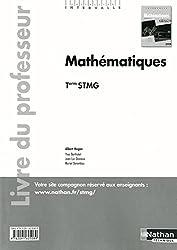 Mathématiques - Tle STMG - livre du professeur
