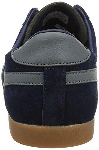 Gola Bullet Suede Navy/Ash//Gum, Baskets Homme Bleu (Navy/ash/gum Dg Grey)