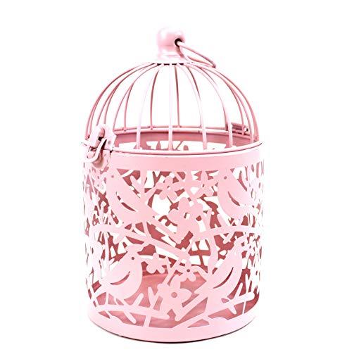 qm Details zu Metall Vogelkäfig Deko Käfig Pflanzkäfig Shabby Dekokäfig Antik rosa groß ü5ü322