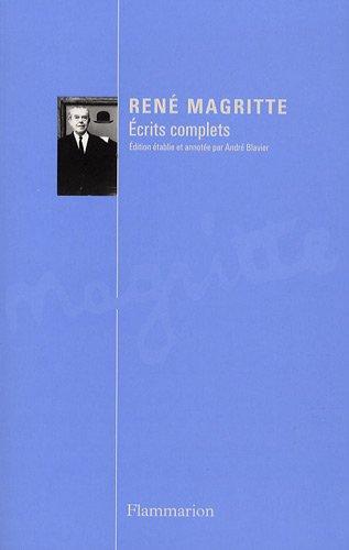 Ecrits complets par René Magritte