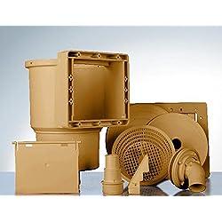 Gre AR100W - Skimmer standard - valvula impulsión - color marrón