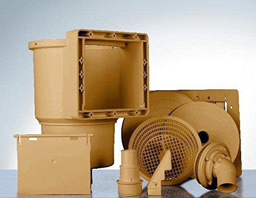 Gre AR100W Skimmer Standard, Marron, 24 x 21.5 x 31 cm
