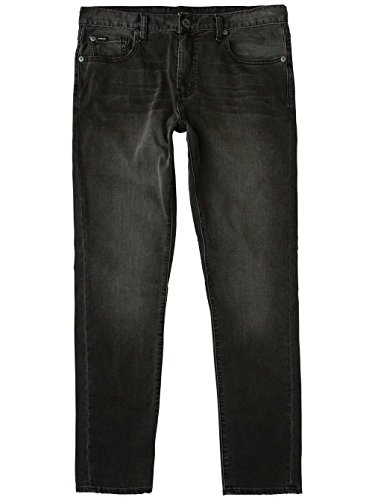 Herren Jeans Hose RVCA Daggers Jeans Heritage Black