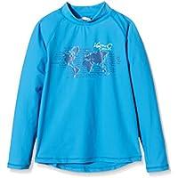iQ-Company UV 300 Shirt Youngster LS Ocean - Camiseta con manga larga de natación para niños