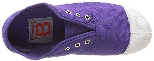 Bensimon Tennis Elly Enfant, Unisex-Kinder Hohe Sneakers Violett - Violet (Violet 416)