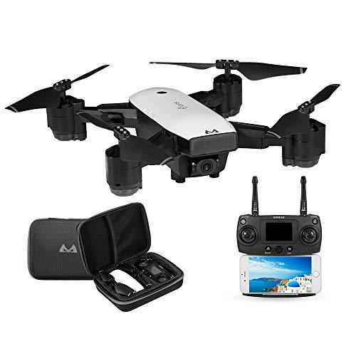 Goolsky SMRC S20 RC Drone 1080 P WiFi FPV Cámara Gran Angular GPS Sígueme Altitud Mantenga Plegable Quadcopter para Principiante