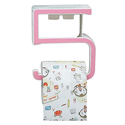 Pingenaneer Numerals 5 Toilet Paper Holder with Phone Self Cover