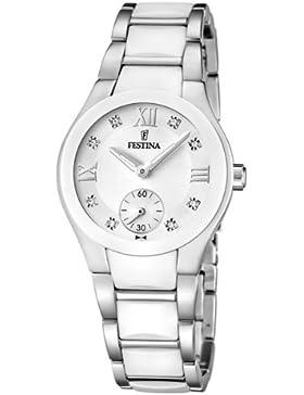 Festina Damen-Armbanduhr XS Trend Analog Quarz Keramik F16588/2