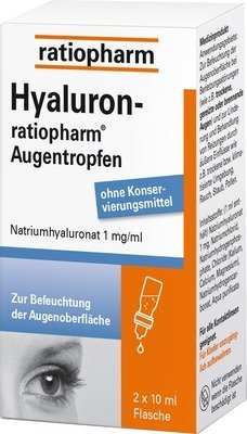 Hyaluron Ratiopharm Augentropfen by ratiopharm GmbH