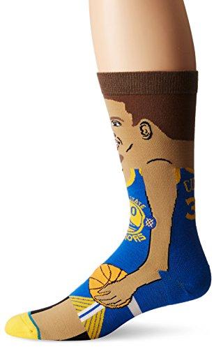 Preisvergleich Produktbild Stance NBA Legends Socks Stephen Curry - Blue-Medium