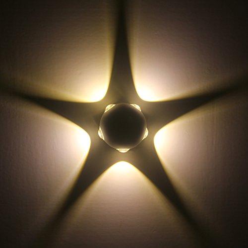 Applique da parete 10w moderna lampada da parete a led ip65 impermeabile lampada da parete per esterni lampade da notte luci perfette per soggiorno decorativo camera da letto 2700k