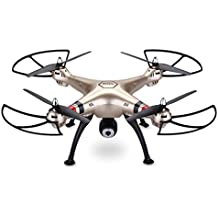 Syma X8HW - Drone Quadcopter RC HD FPV, FPV(4 canales, 6-Axis Gyro, RC, Quadcopter, 2.4GHz, 360 ° Tirones)0.3Mp