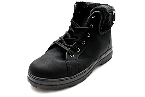 Mr Shoes, Damen Stiefel & Stiefeletten  Schwarz Nero Nero (Nero)