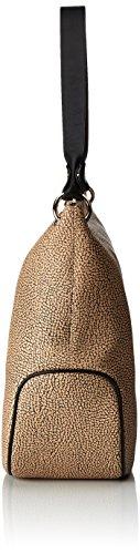 Borbonese 903875320, sac bandoulière Verde (Safari)