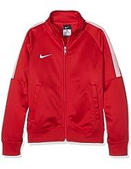 Nike Yth Team Club Trainer Jacket - Chaqueta para niño, color rojo / blanco, talla S